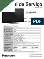 Panasonic+TC-L42U30B+-+Manual+de+Servico
