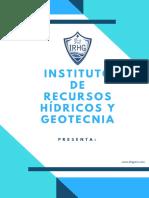 Curso IRHG Medidas Estructurales