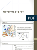Medieval European presentation