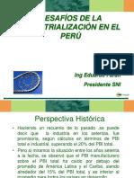 Desafios de La Industrializacion Perú