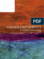 short introduction of sociolinguistics book
