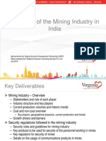 Mining Industry Overview in India by Virginia Publishing