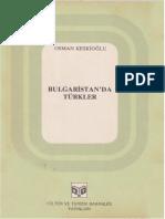 Osman Keskioğlu - Bulgaristan'Da Türkler