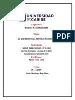 Derecho Costitucional Grupo 4
