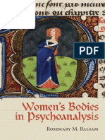 Women´s bodies in Psychoanalysis