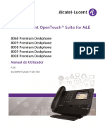 Manual Telefone Alcatel Lucent 8029