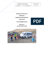 Reporte de Simulacro Derrame de Hidrocarburos 21.11.19