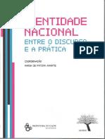 Identidade Nacional entre o Discurso e a Prática.pdf