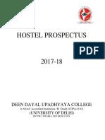 Hostel Prospectus 2017-18