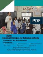 Teaching Strategies for Pakistani Schools FSB