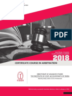 Certificate Course Arbitration