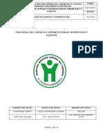 L&D-PRO02 Protocolo de Limpieza y Desinfeccion de Superficies y Equipos