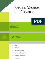 Design and Fabrication of Robotic Vaccum Cleaner