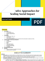 Collaborative Approaches for Scaling Social Impact - Internal Study