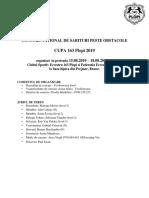 Varianta Finala - Cupa 163 Plopi 2019