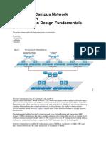 Campus network design