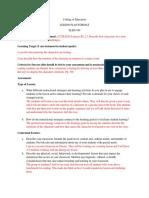 reading methods lesson plan