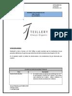 informe Técnico Instalación de Gas