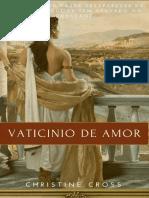 Vaticinio de Amor - Christine Cross