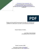 proposta preliminar de trabalho - 2004 - Ana Cristina.doc