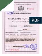 1. Caratula Notarial Del Testimonio de Constitucion
