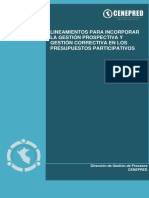 Lineamiento GP y GC PDC