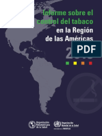 informe tabaquismo