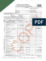 Mercer Family Foundation tax return 2018