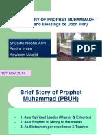 Prophet's Life