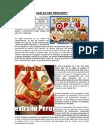 Que Es Ser Peruano