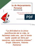 6 PROYECTO DE VIDA+ Pde Mejoram.P.