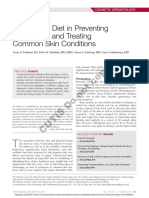 The Role of Diet in Preventing