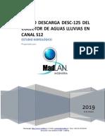 00 Informe Hidrologico Desvío Del Colector A02