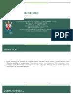 FORMAÇÃO DE SOCIEDADE
