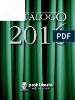 Catalogo Prohistoria - 2016