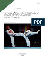 Preparación Física en Taekwondo Área de Combate. Deportistas Amateurs. Evaluación. (Parte i) - Entrenamiento en Deportes de Combate