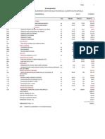 presupuesto arquitectura de centro de salud