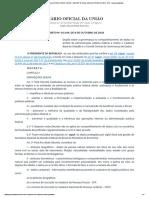 Decreto Nº 10.046, De 9 de Outubro de 2019 - Decreto Nº 10.046, De 9 de Outubro de 2019 - Dou - Imprensa Nacional
