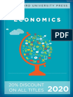 Stanford University Press | Economics 2020 Catalog