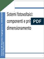 04 Sistemi Fotovoltaici Parte 1