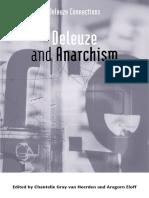 (Deleuze Connections) Chantelle Gray Van Heerden, Aragorn Eloff - Deleuze and Anarchism-Edinburgh University Press (2019)