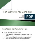 Paying Zero Taxes