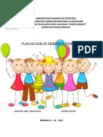 Plan de Acción Deberes y Derechos.