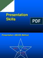 Presentation Skills Material