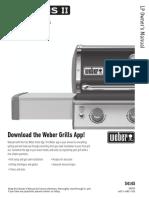 Weber Genesis II E-315 Owner's Manual