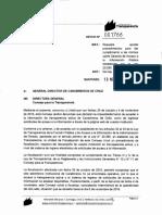 Oficio de Chile Transparente a Carabineros