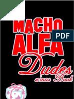 Macho Alfa Dudes Xmas Book