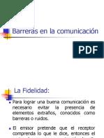 Barreras de La Comunicación Humana