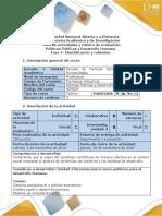 Guía de Actividades y Rúbrica de Evaluación-Fase 4- Identificación y Reflexión