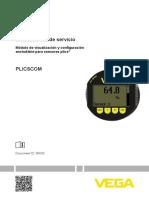 instruccion de operacion PLICSCOM